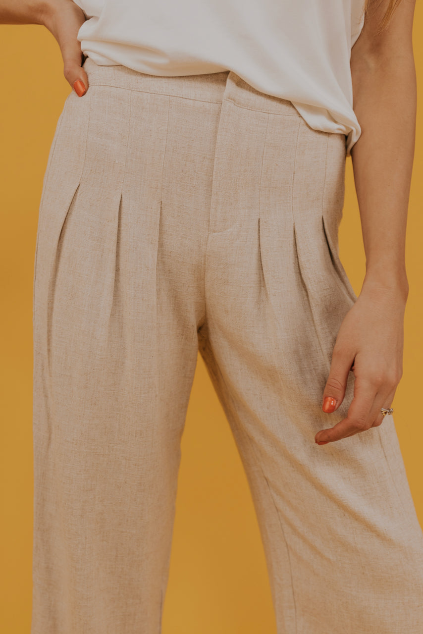 Casual pleated pants | ROOLEE