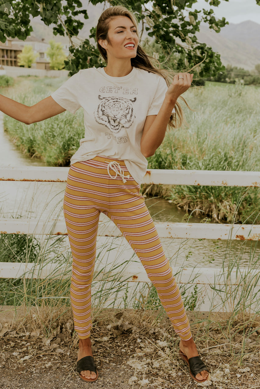 Still Dreaming Stripe Pants