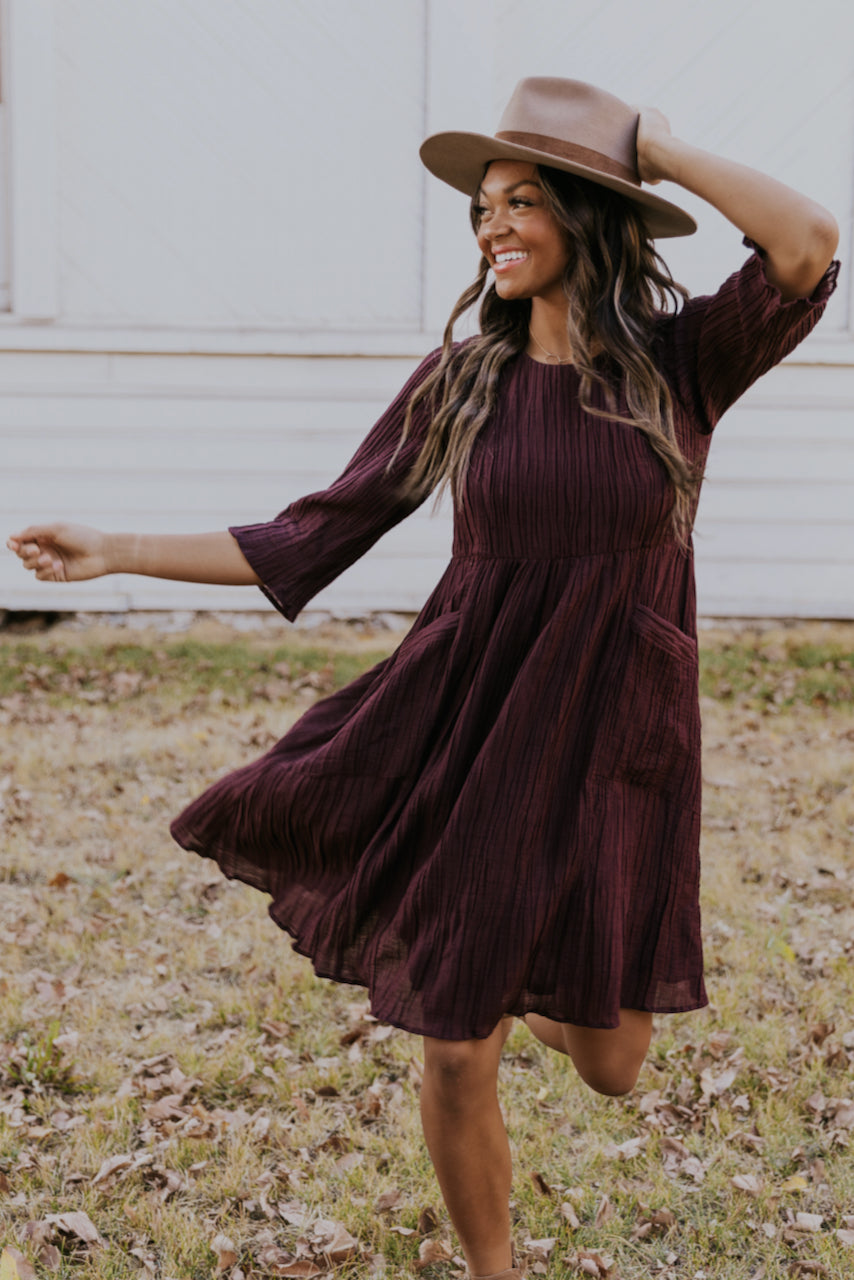 Cute purple dresses for mom | ROOLEE