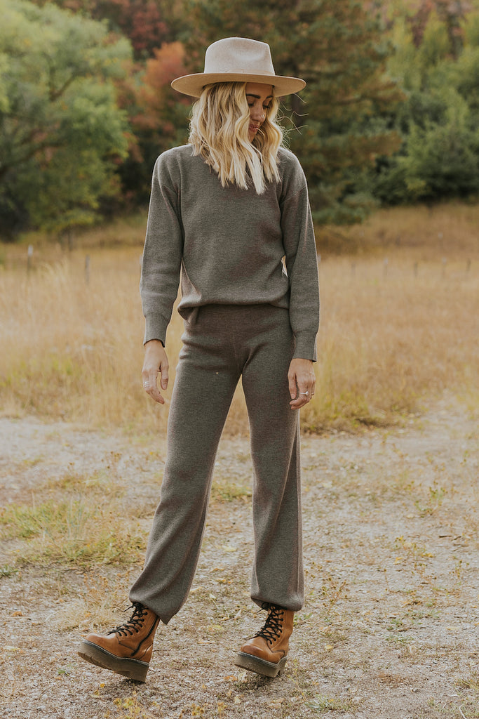 Shalee Sweater Knit Pants