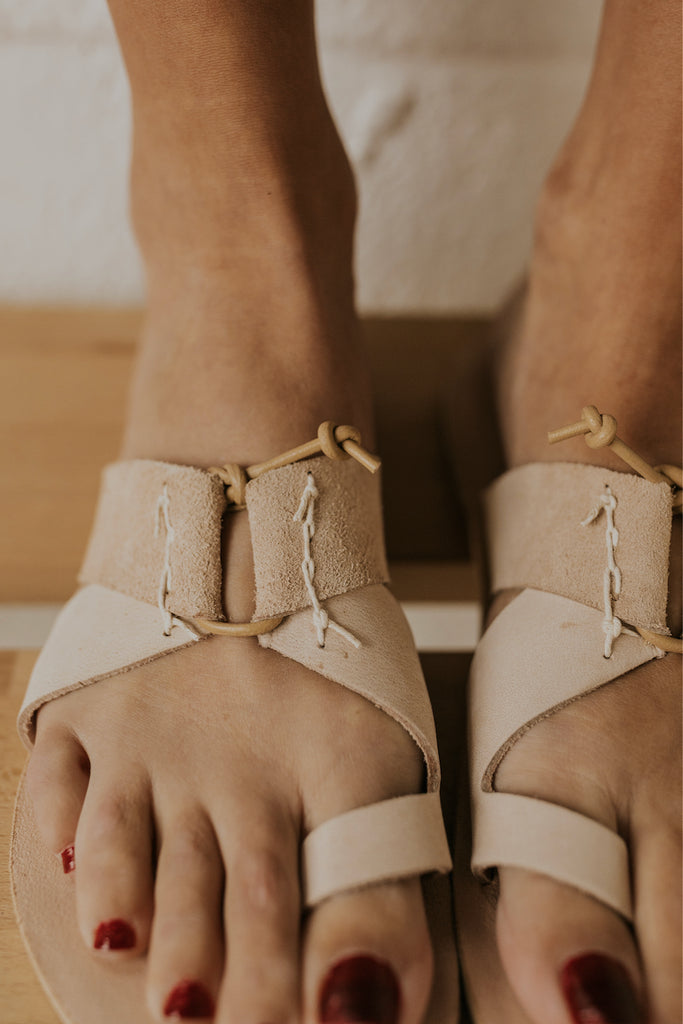 Neutral sandals | ROOLEE