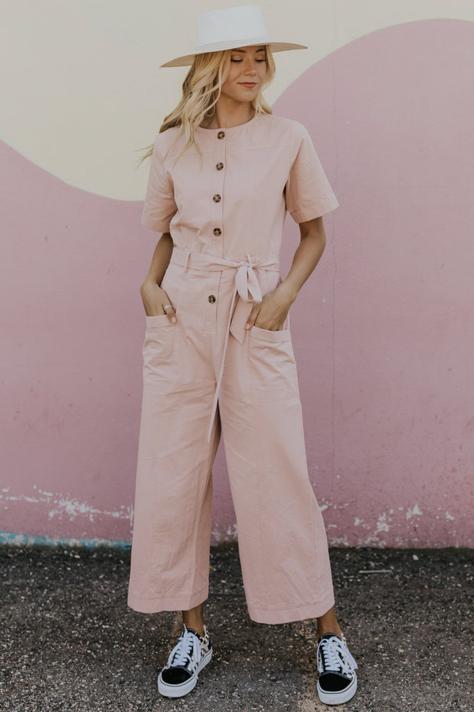 Nursing Friendly Jumpsuit | ROOLEE