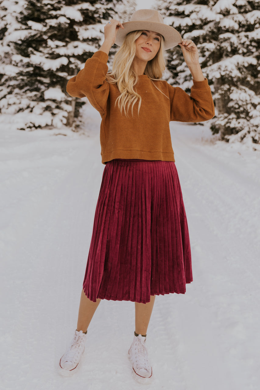 Cute Skirts for Winter | ROOLEE