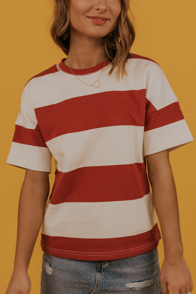 Cute striped tee | ROOLEE