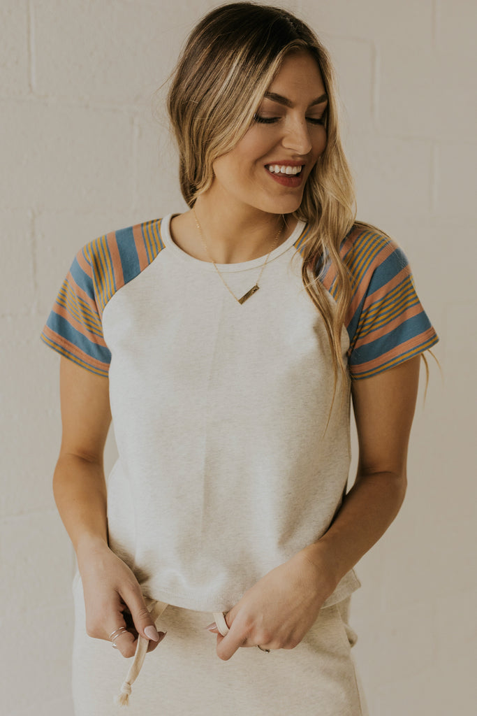 Stripe top for women | ROOLEE