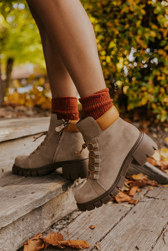 Short military lace up bootie | ROOLEE
