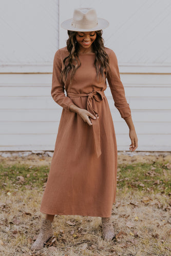 Warm Wishes Maxi Dress