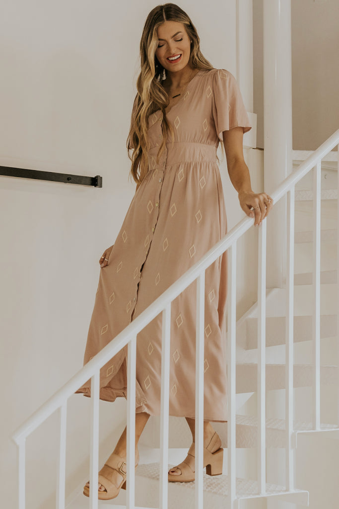 Button Up Dress | ROOLEE