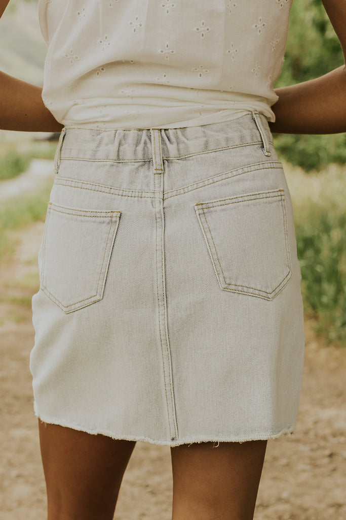 Denim skirts for all body types | ROOLEE