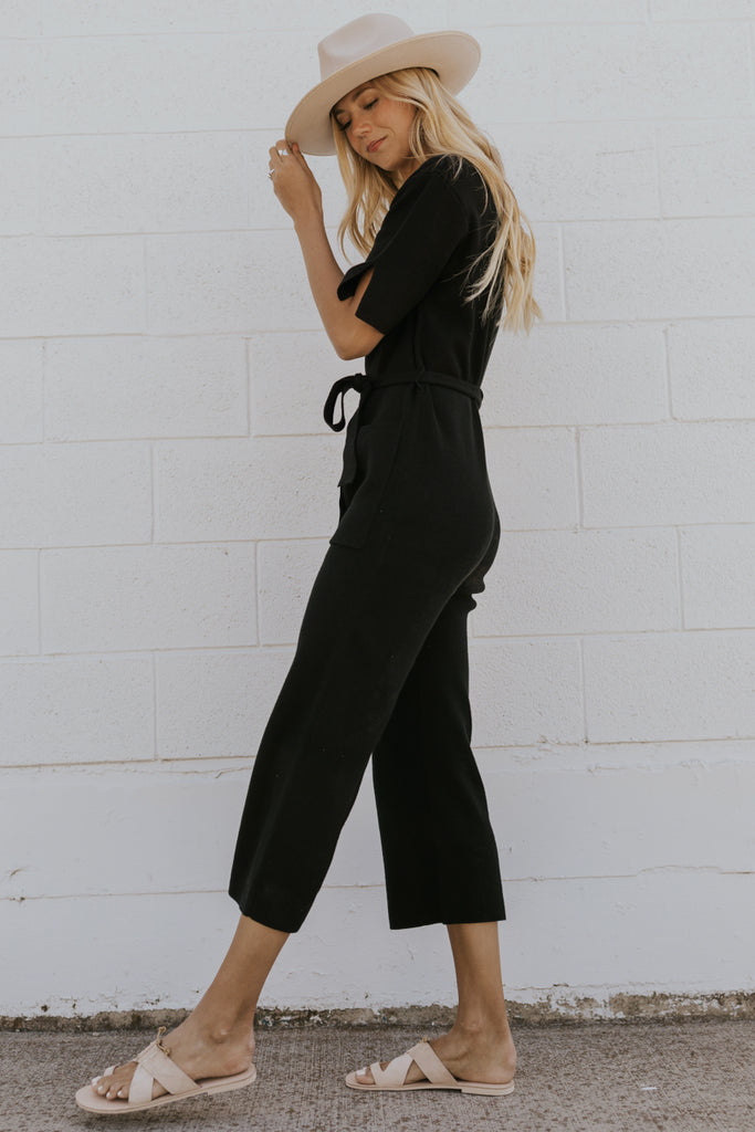 Cute Knit Spring Jumpsuits | ROOLEE
