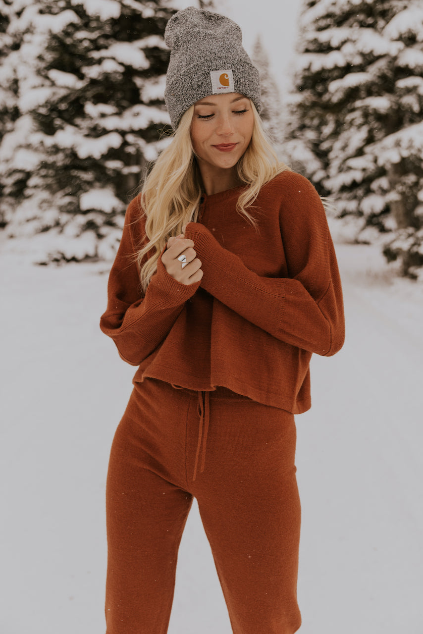 Button Detailing Soft Sweater | ROOLEE