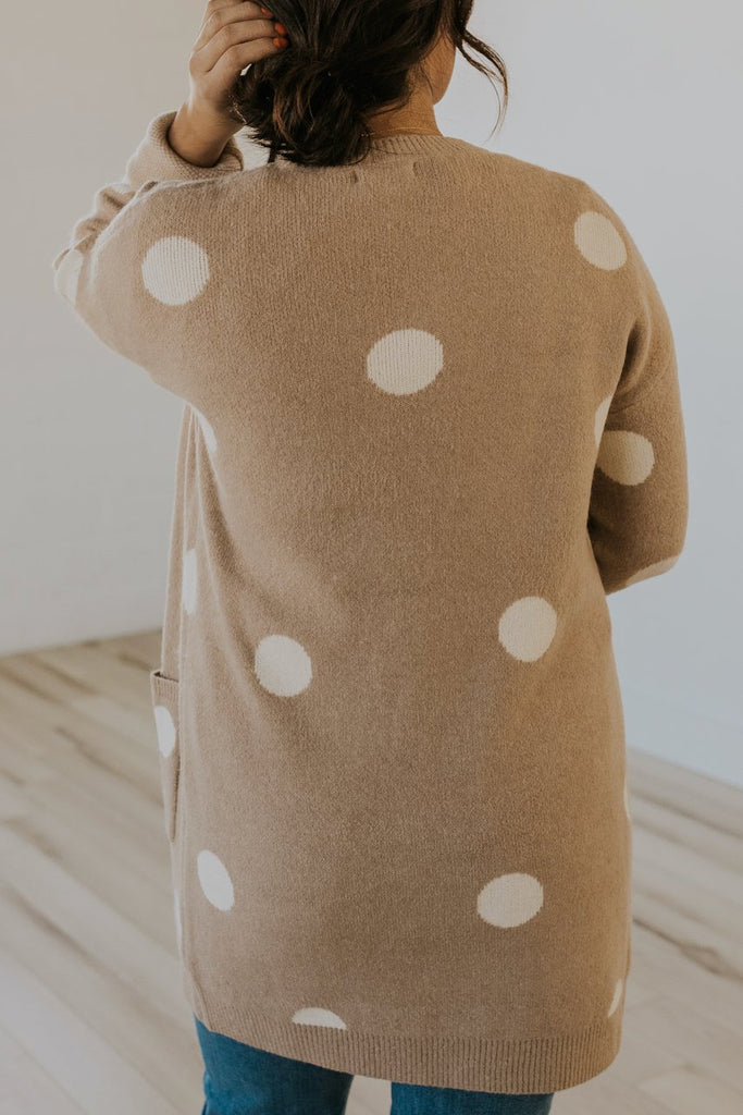 Tan long sleeve sweater | ROOLEE