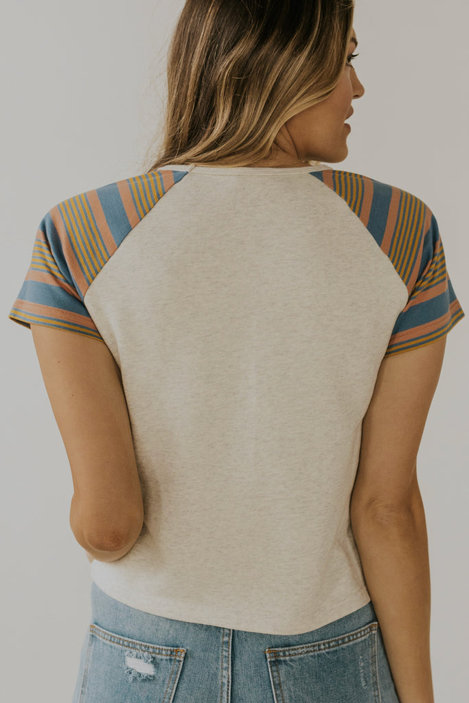 Cute stripe tees | ROOLEE