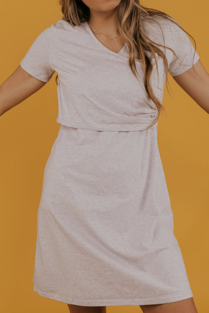 Wrap front dresses for casual wear | ROOLEE