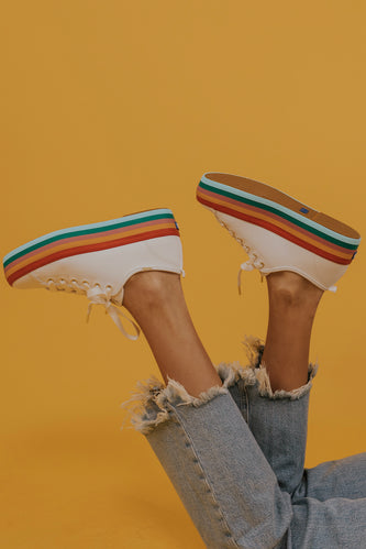 Keds Triple Up Rainbow Sneakers