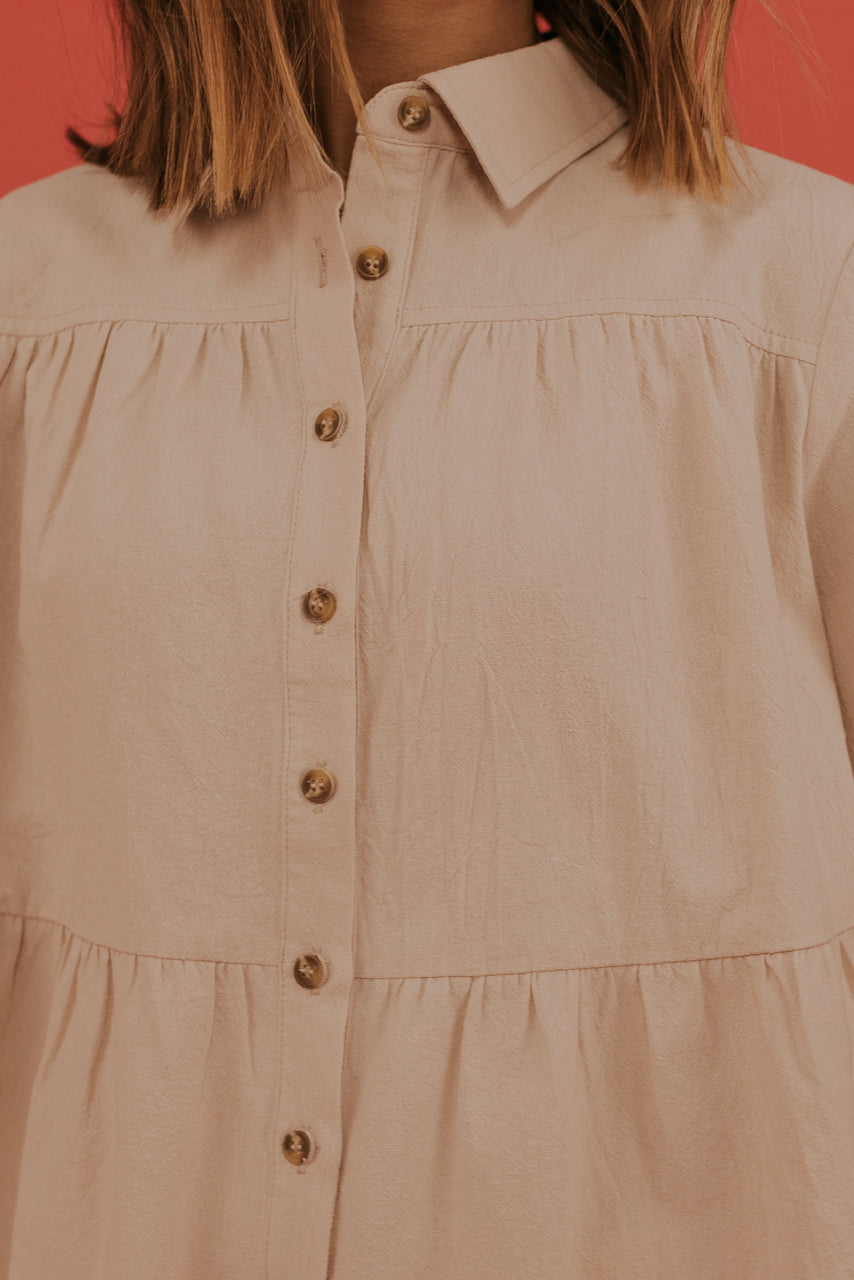 Collared Blouse | ROOLEE