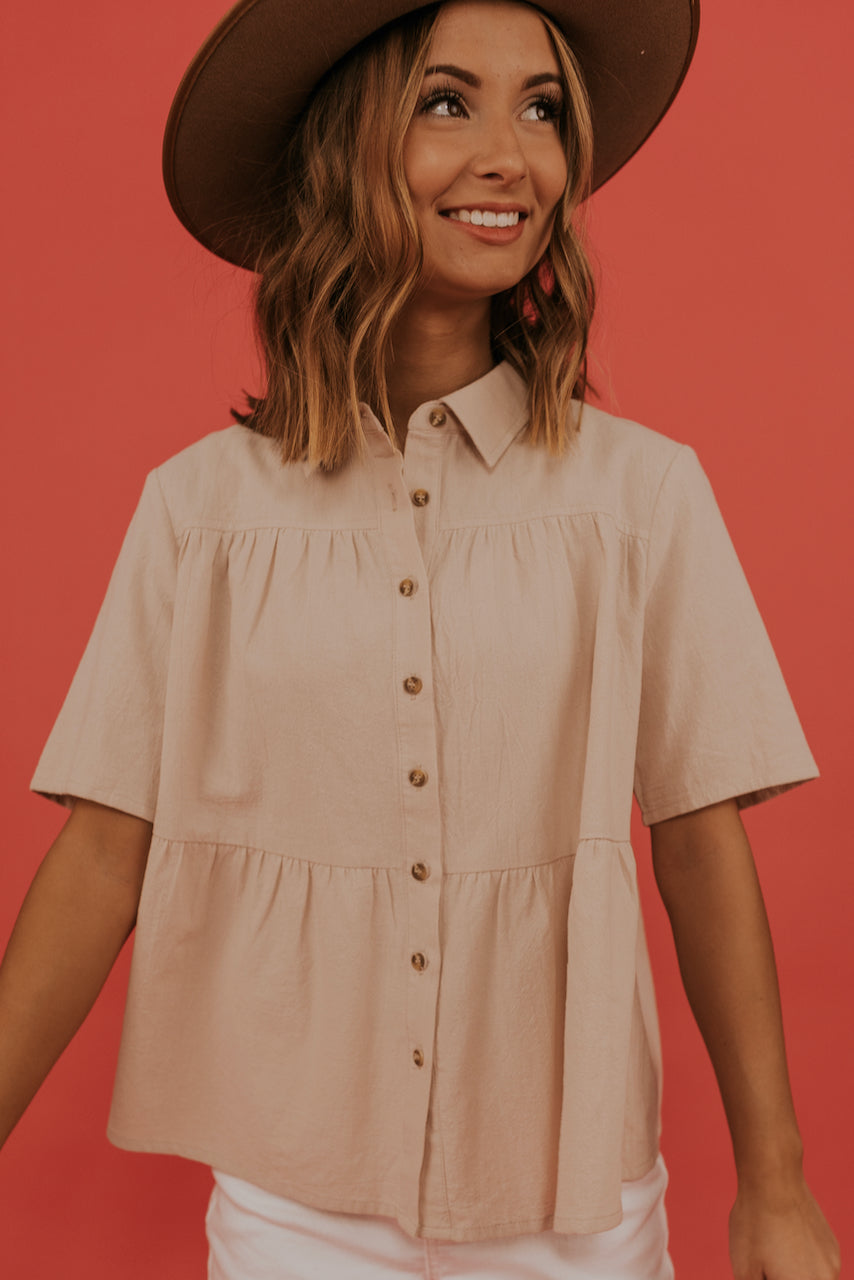 Babydoll Style Blouse | ROOLEE