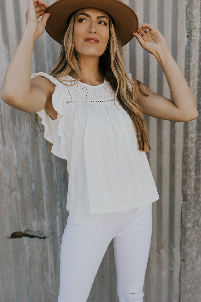 Lightweight modest summer womens top | ROOLEE