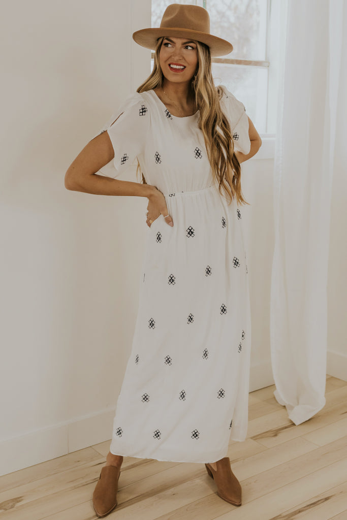 White Maxi Dresses | ROOLEE