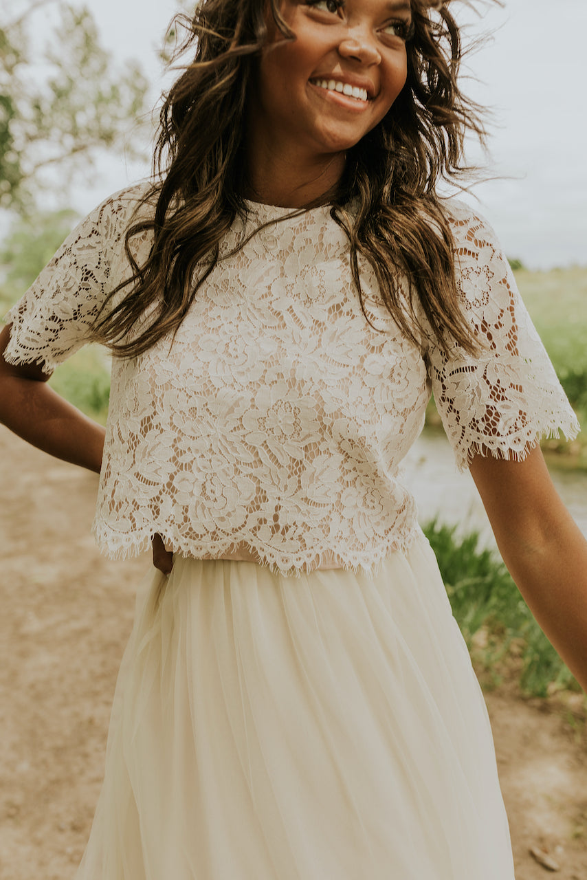 Darling wedding dress two pieces | ROOLEE