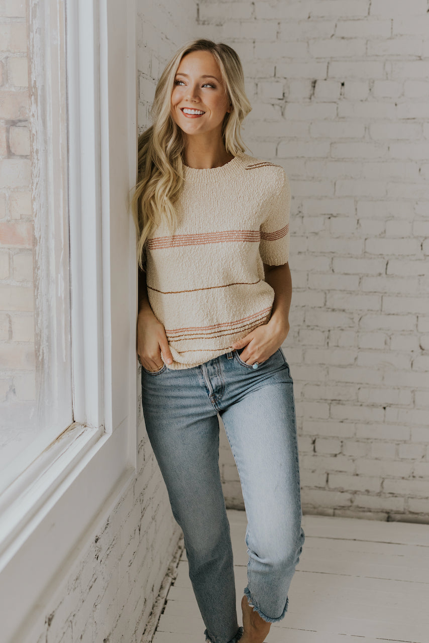 The Speechless Stripe Knit Top