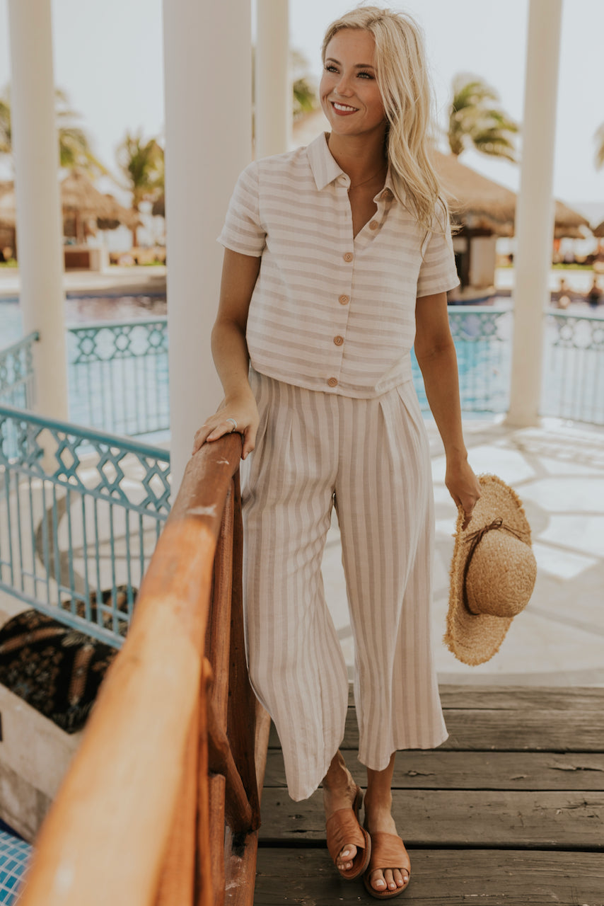 Spring Linen Outfits | ROOLEE