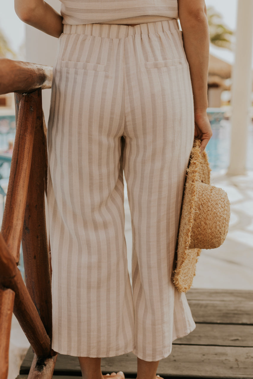 Cute Striped Spring Pants | ROOLEE