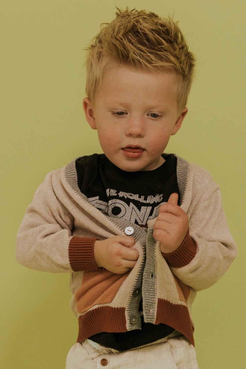 Cute Little Boys Cardigan | ROOLEE
