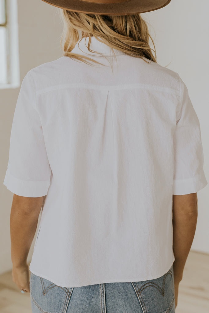White blouses for women | ROOLEE
