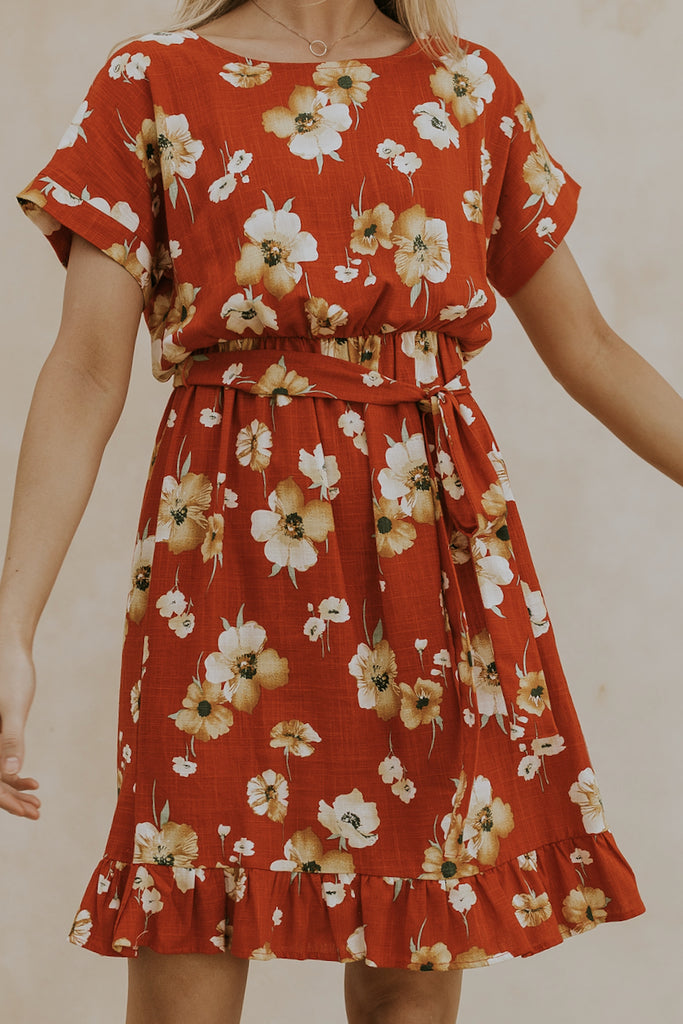 Sunset Meadow Dress
