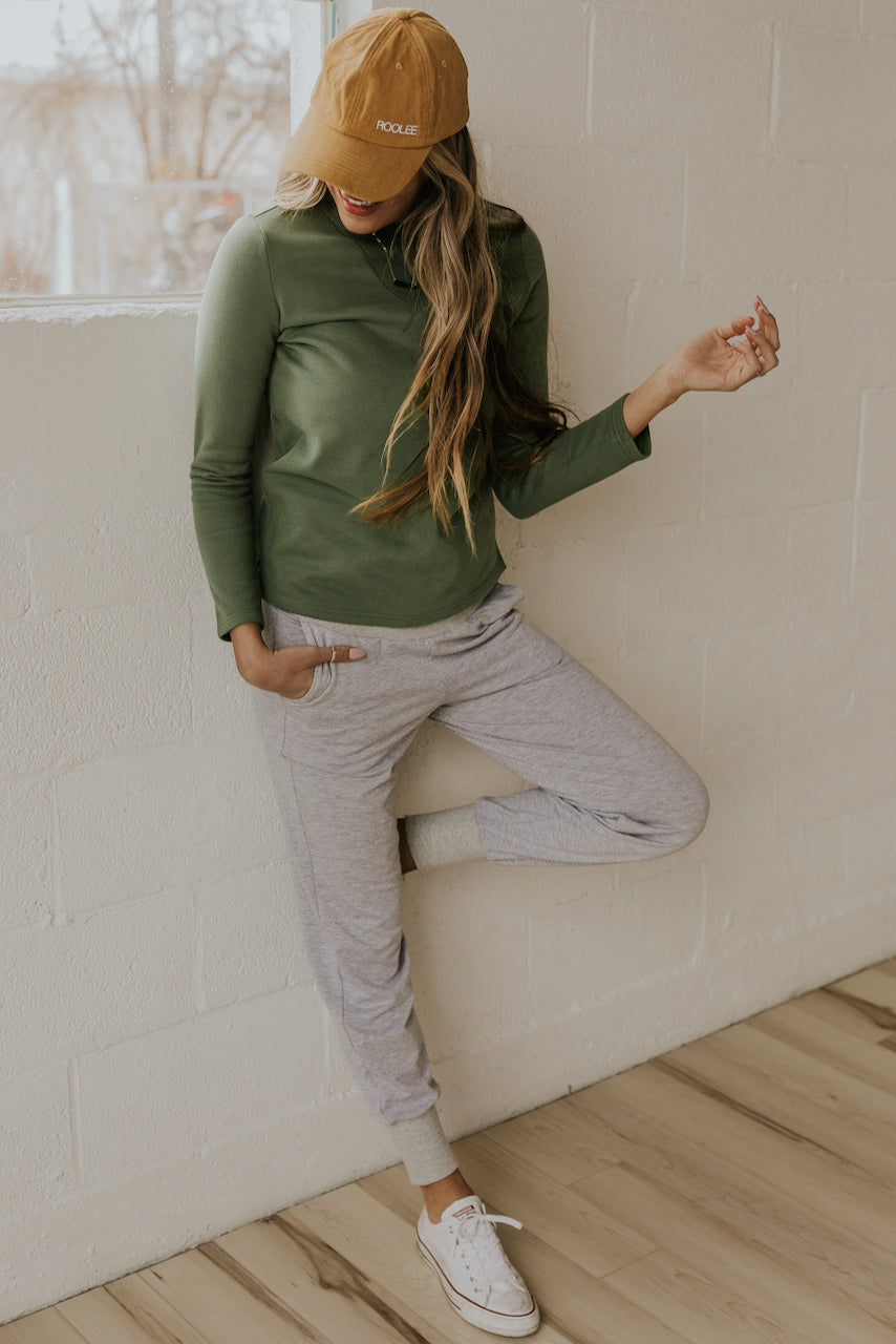 Comfortable jogger sweats for women and moms | ROOLEE
