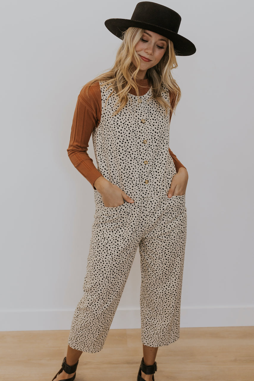 Printed Jumpsuit for Spring | ROOLEE