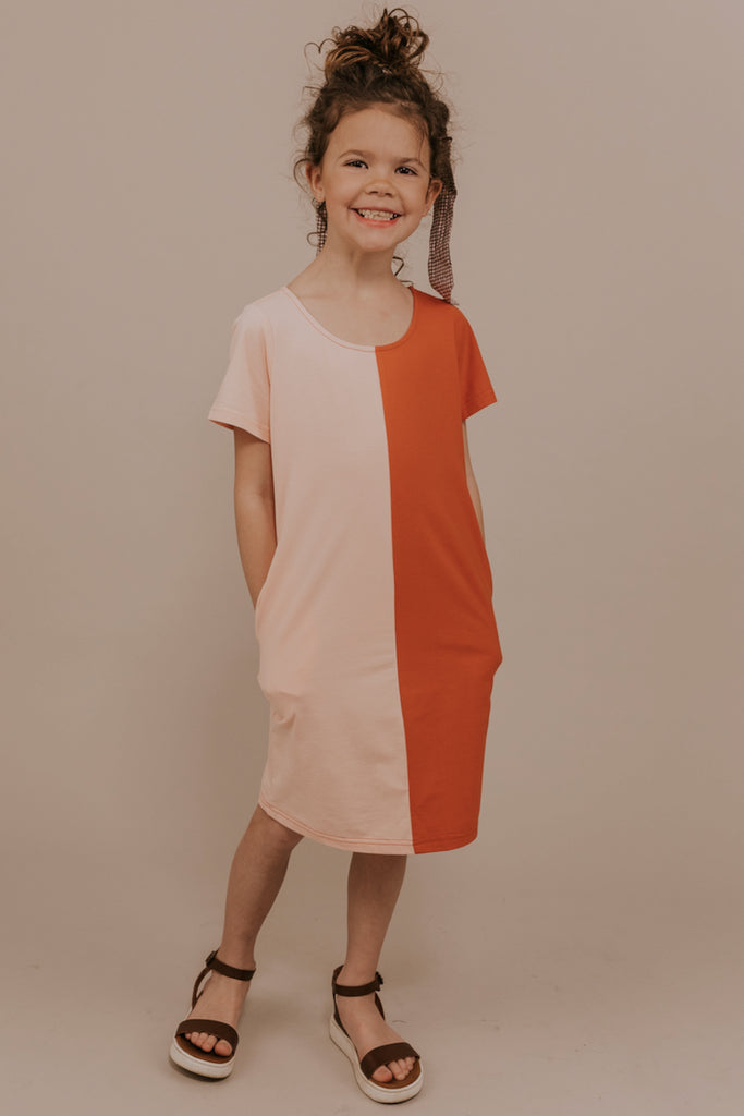 Zaylee Colorblock Dress