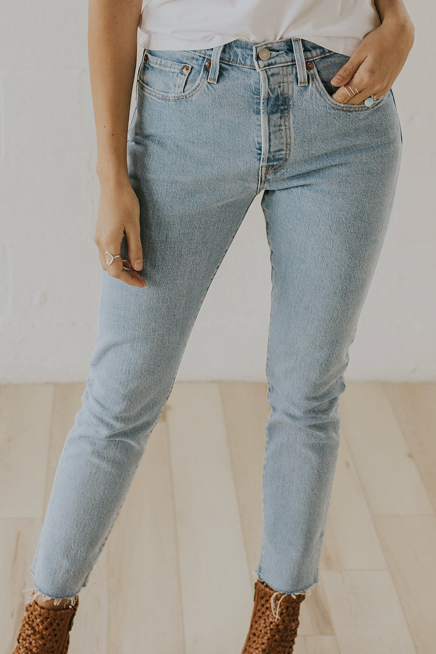 Levi's 501 High Rise Stretch Skinny Jean