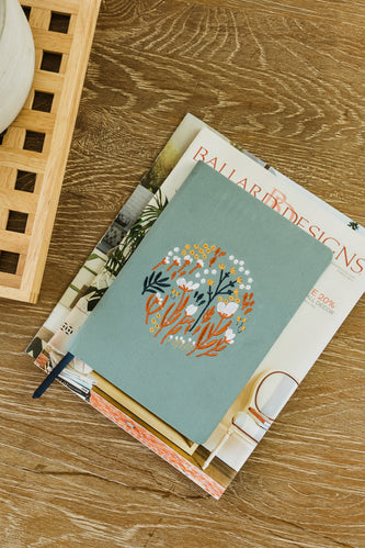 Alden Embroidered Journal
