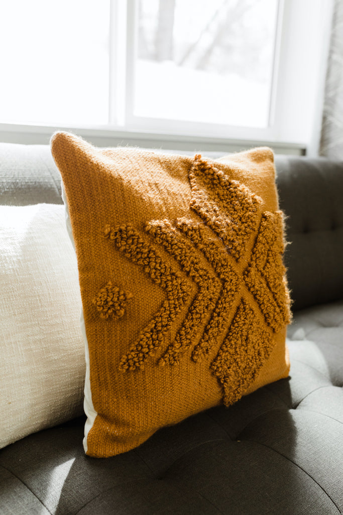 Myrtle Embroidered Pillow Cover