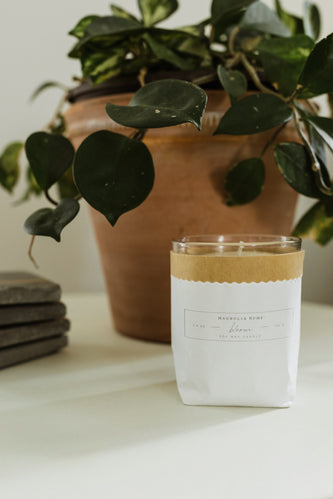 Magnolia Home Soy Wax Kraft-Textured Candle