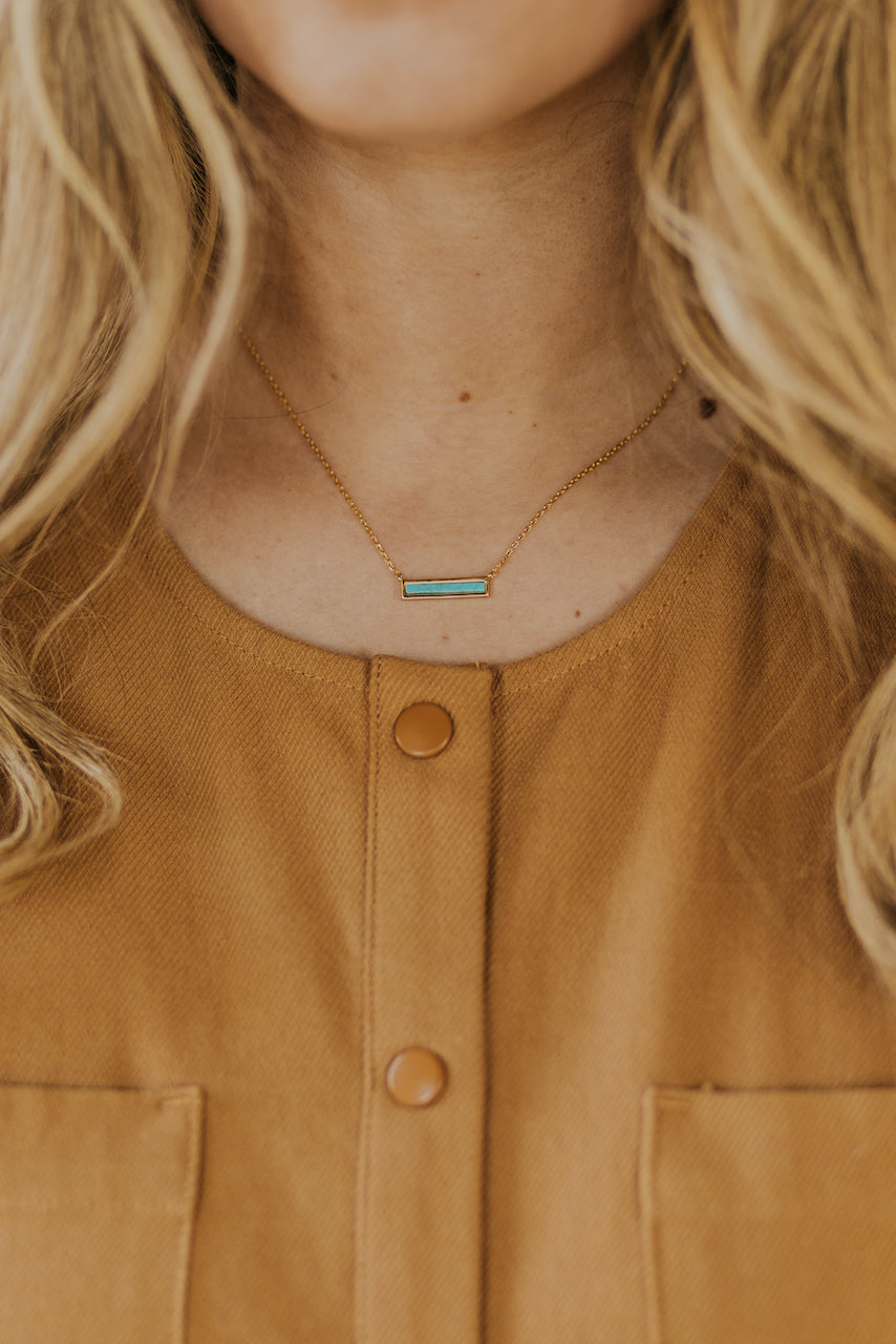 The Grace Turquoise Necklace