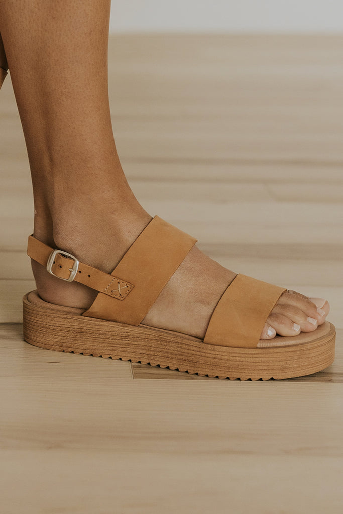 Thick strap sandal | ROOLEE