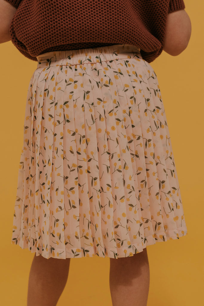Mini Like A Lady Pleated Floral Skirt