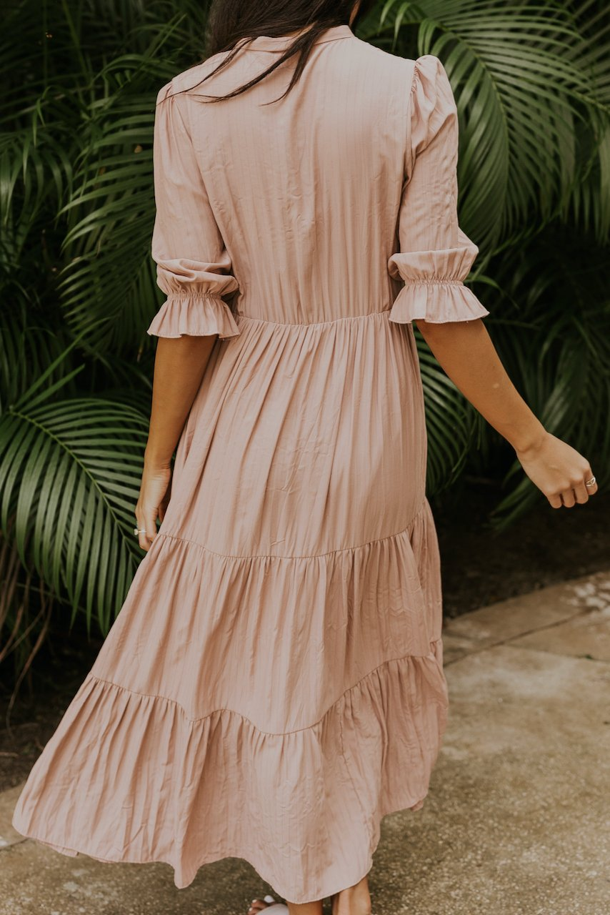 Light pink bridesmaid dresses | ROOLEE