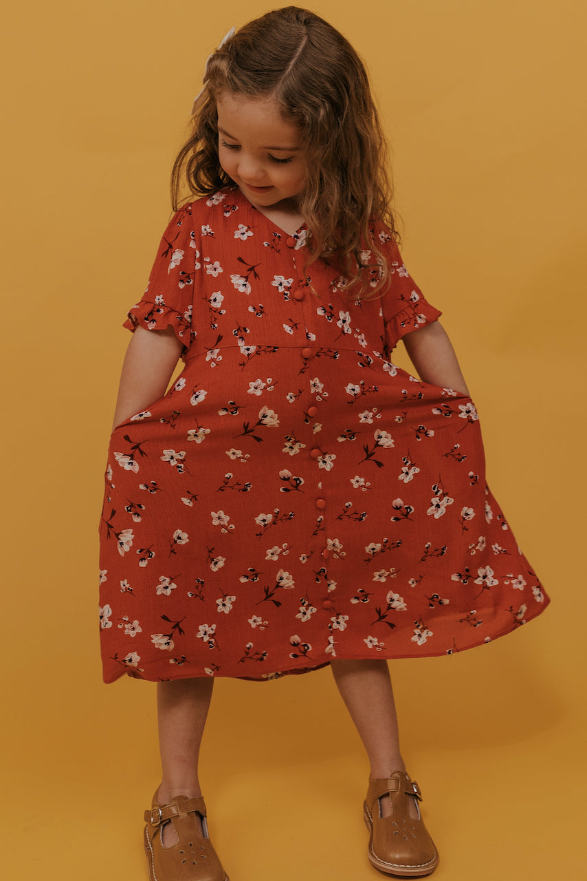Mini Prewett Floral Dress