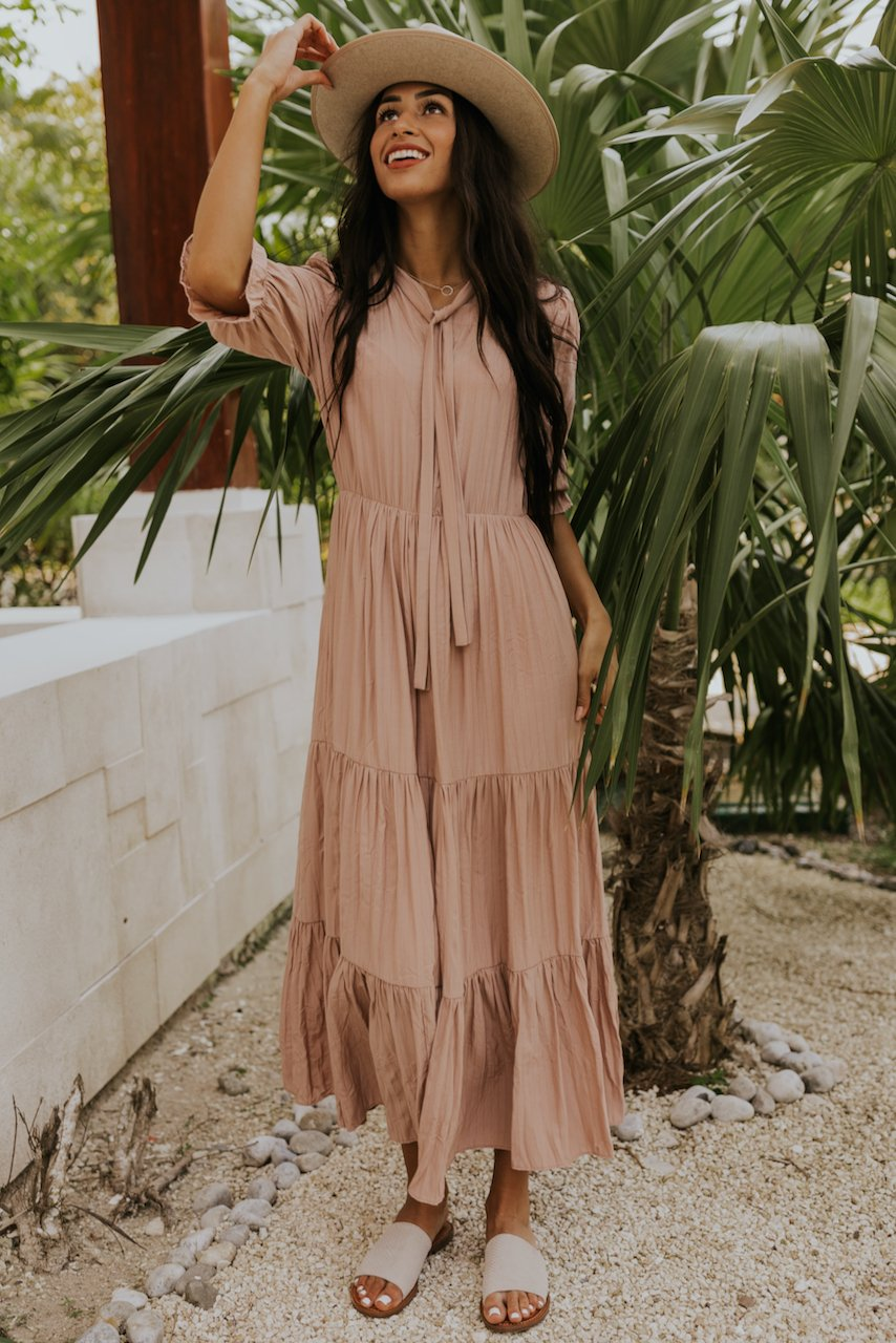 Long maxi dresses for summer bridesmaids | ROOLEE