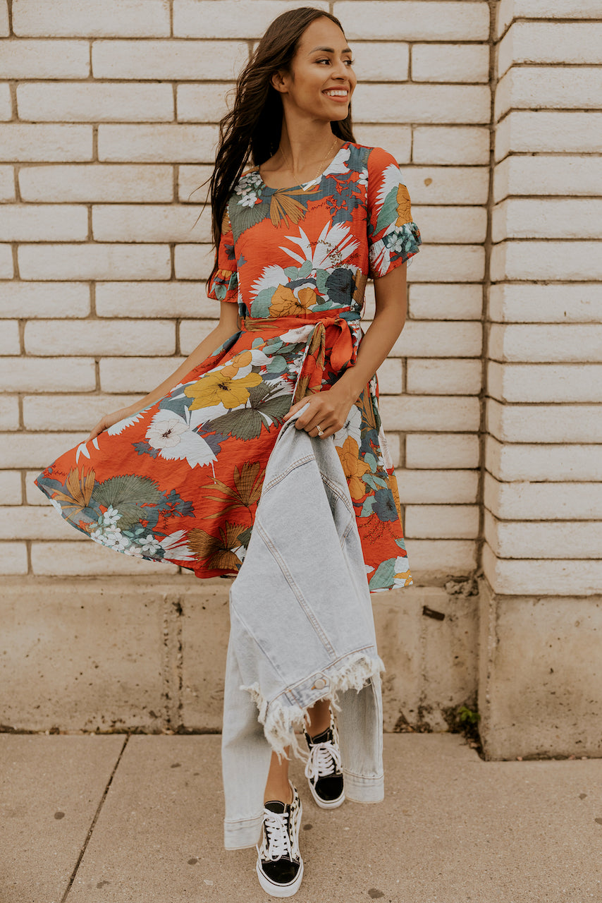 The Bahamas Floral Dress