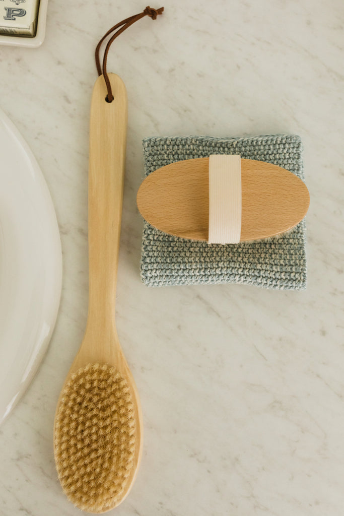 Geller Wooden Bath Brush