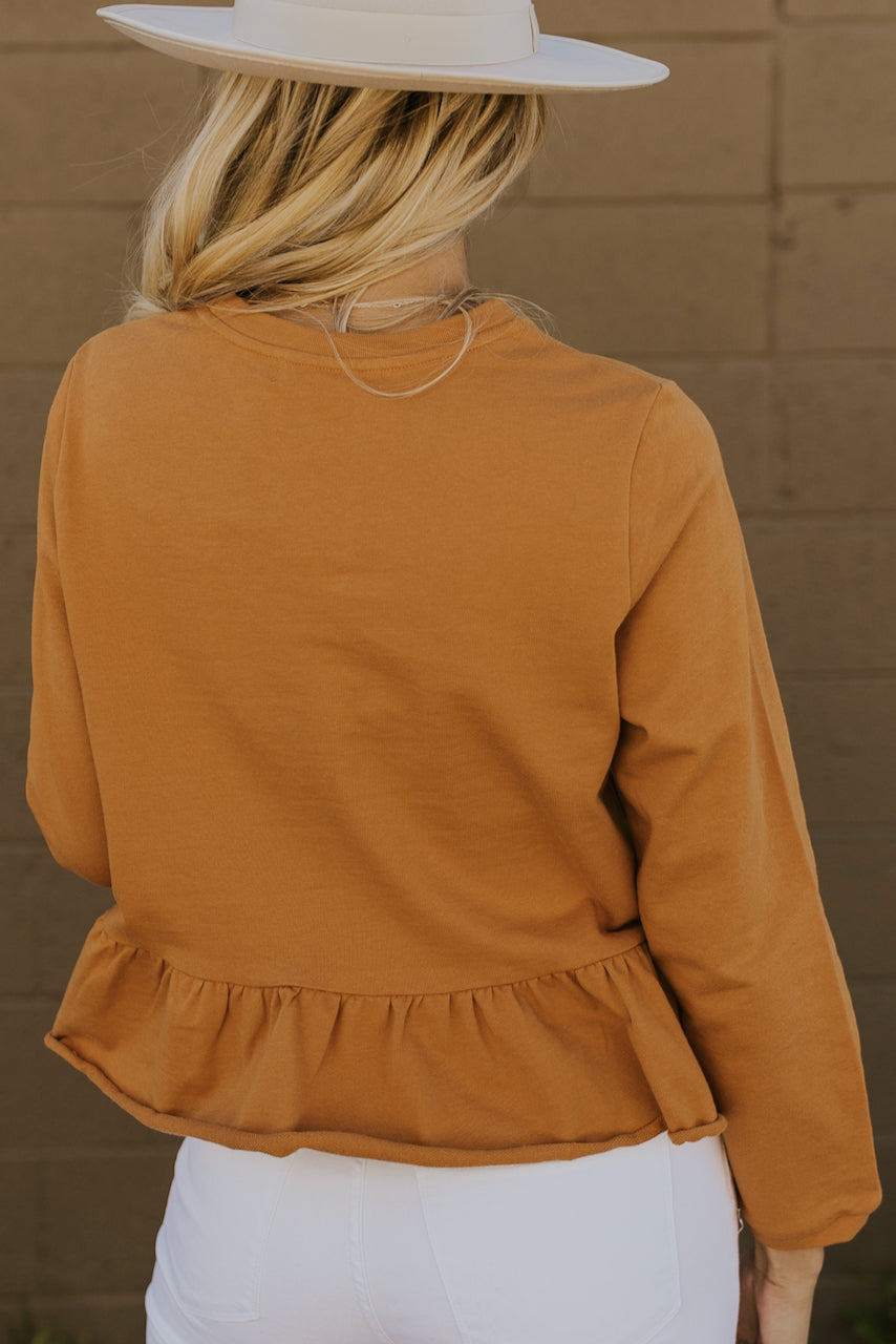 Casual Long Sleeve Peplums | ROOLEE