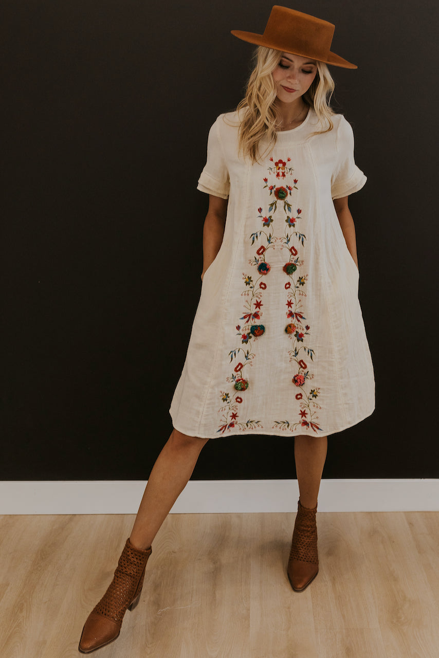 Floral eyelet dress | ROOLEE