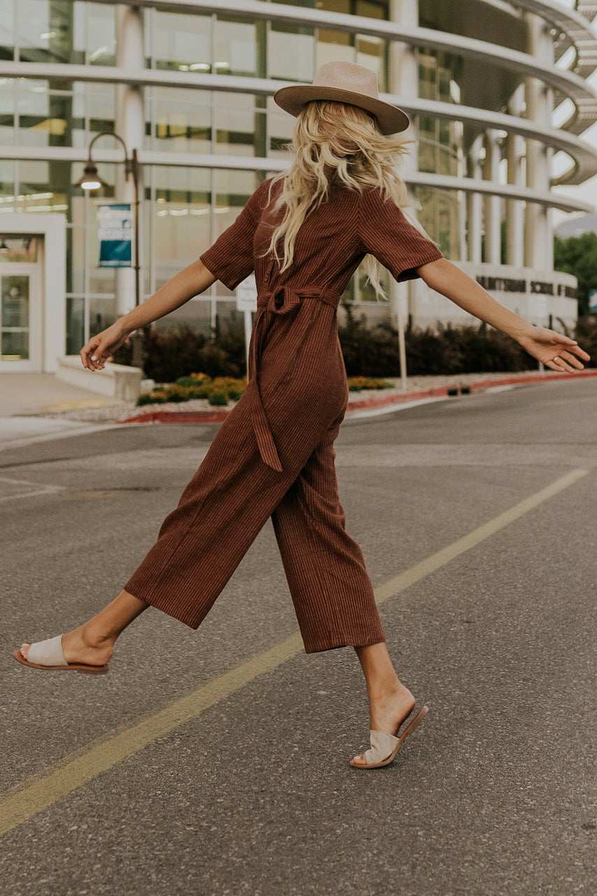 Rust Colored Jumpsuit | ROOLEE