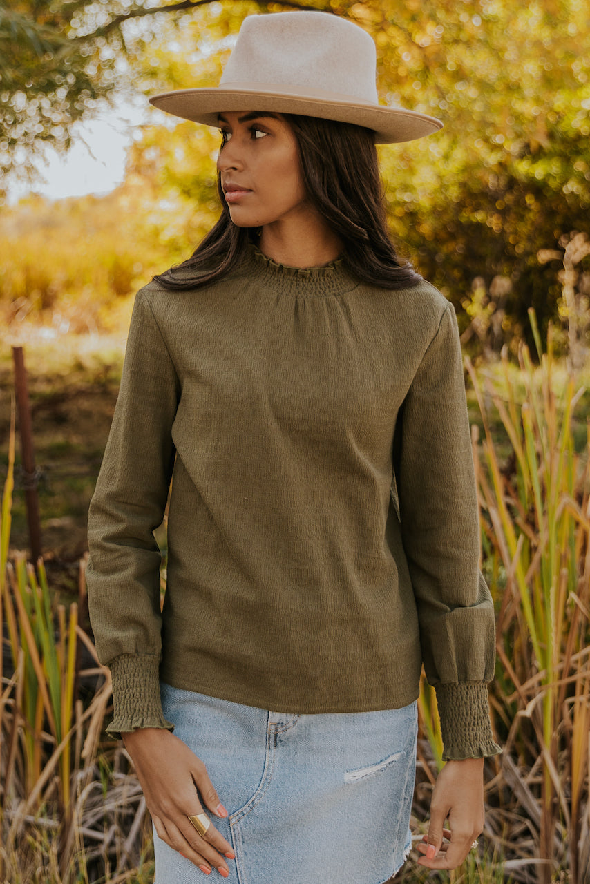Formal long sleeve blouses | ROOLEE