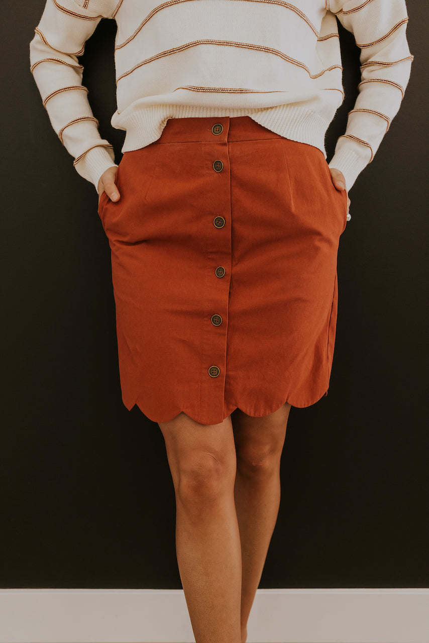 The Casanova Scalloped Skirt